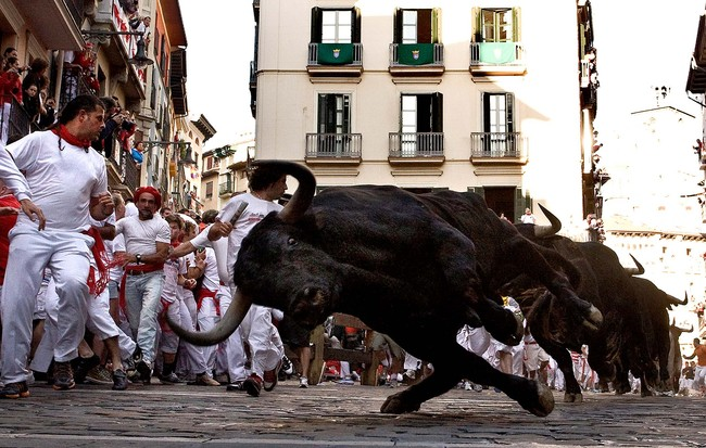 Fiesta De San Fermin Running Of The Bulls - Day 3